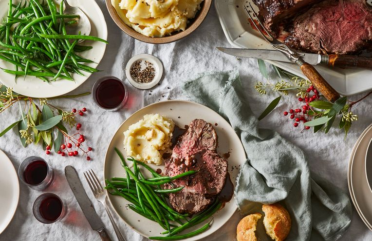 Prime Rib Stars in This 90% Hands-Off Holiday Feast