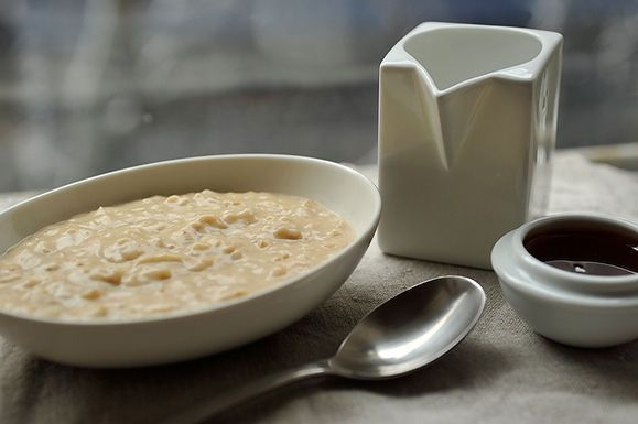 Overnight Steel-Cut Oats with Almond Butter and Honey