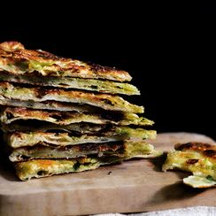Multi-Layered Scallion Pancakes