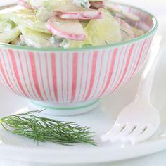 Radish & Cucumber Salad