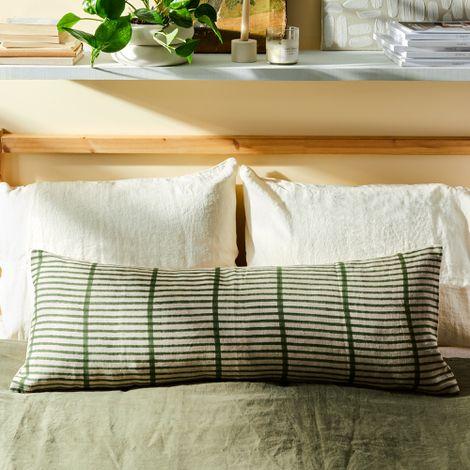 Hand-Blocked Artisan Lumbar Pillows