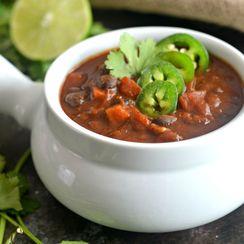 Smoky Black Bean Lentil Chili
