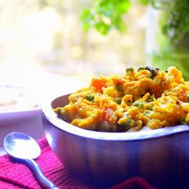 Egg Bhurji - Spiced-up Scrambled Eggs