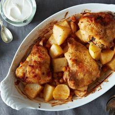 Dinner Tonight: Extraordinary Roasted Chicken + Quick Peanut Butter Squares