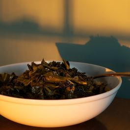 Pot-Roasted Collard Greens