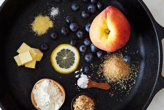 Perfect Peach-Blueberry Pandowdy