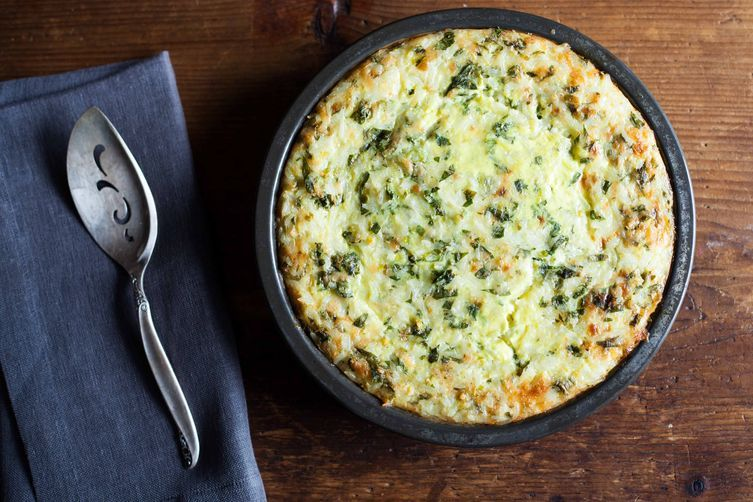 Green Rice Casserole on Food52