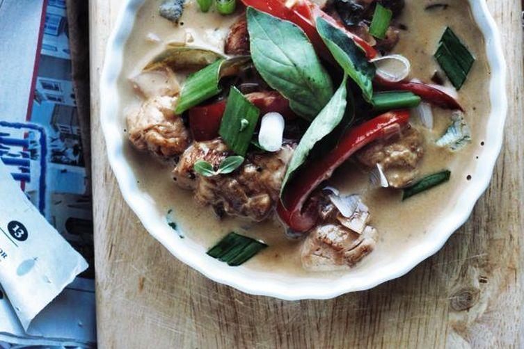 Faux Thai Green Curry