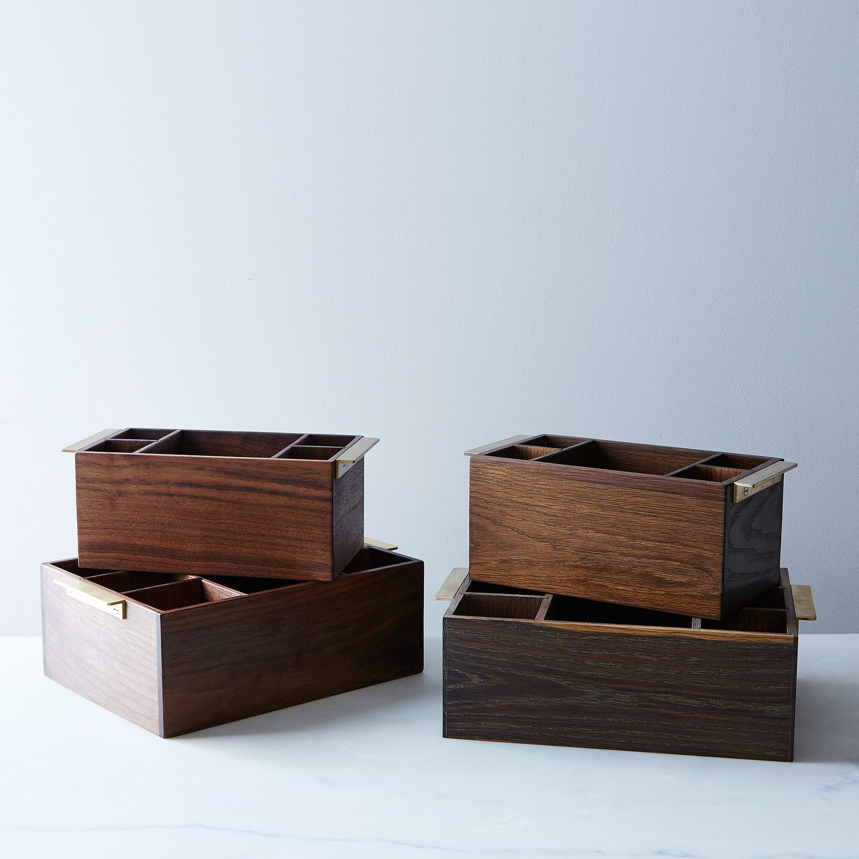 Flatware and Napkin Holder - Flatware Holder -- Outdoor Dinnerware ...