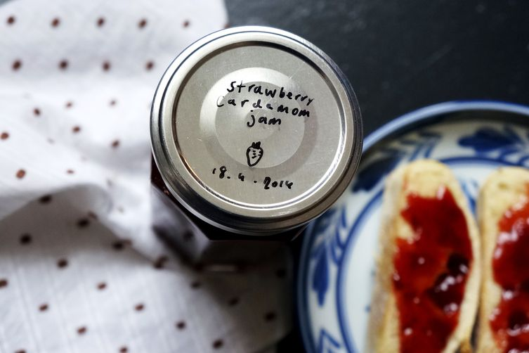 Strawberry Jam with Cardamom