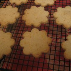 Orange Cardamom Shortbread