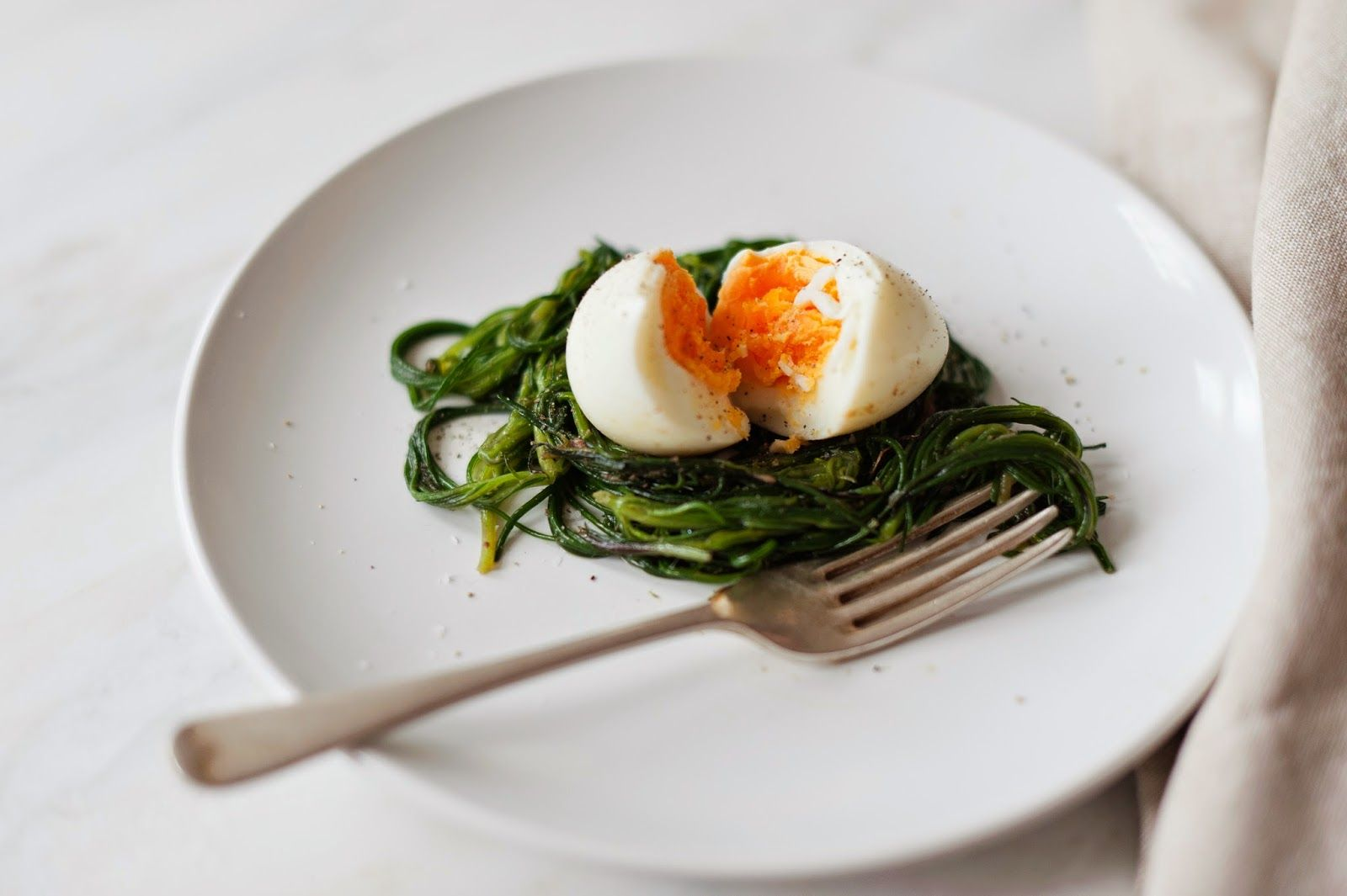 Monk's Beard with Egg