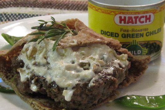 Hot-as-you-want-them lamb burgers with basil-lemon goat cheese