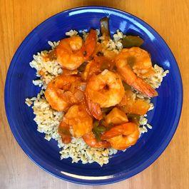 Shrimp a la Veracruzana