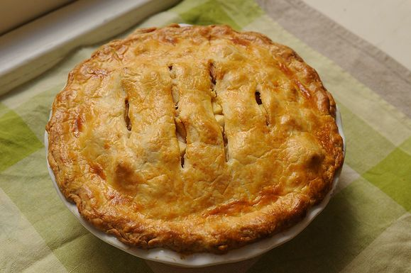Finalist: Brown Butter and Cheddar Apple Pie