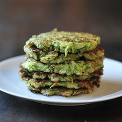Amanda and Merrill Make Zucchini Pancakes