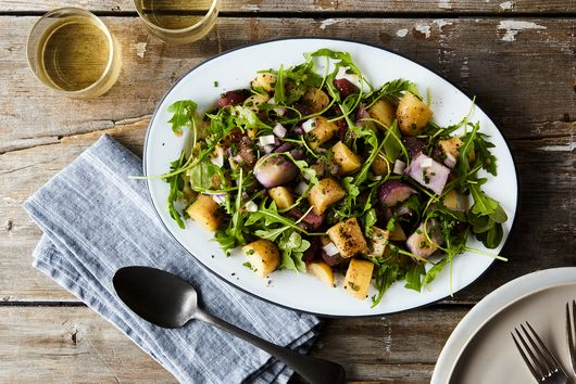 Potato Salad With Arugula & Dijon Vinaigrette