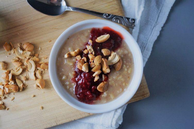 Coconut Brown Rice Porridge