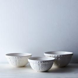 Mason Cash Cream Cane Mixing Bowls