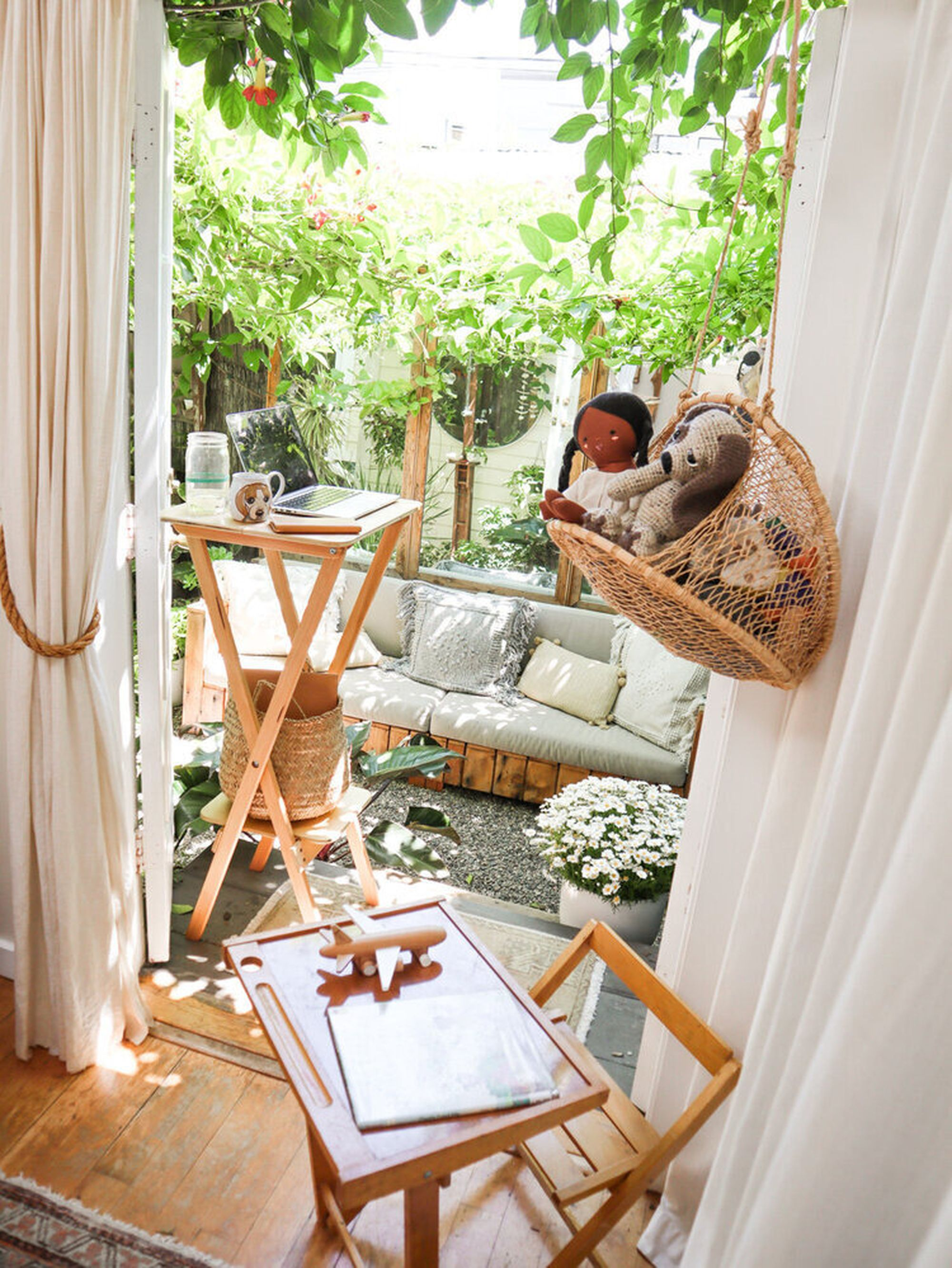 How Our Family Finds Comfort in a 400-Square-Foot Home