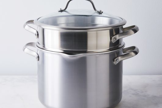 GreenPan Venice Pro Non-Stick Stockpot with Straining Lid and Steamer, 8QT