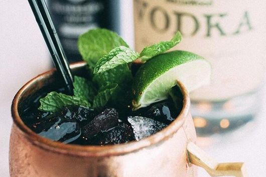 Bow Hill Mule Cocktail