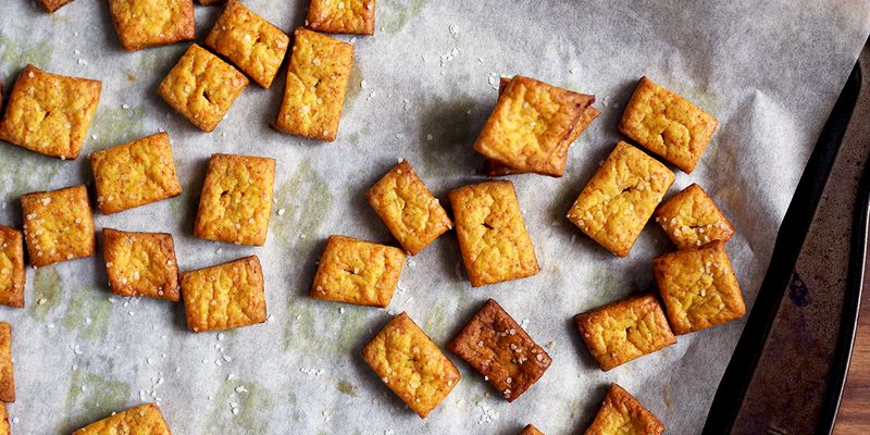 Homemade crackers that are a snap to make (seriously, though)