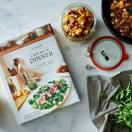 Signed Copy: A New Way to Dinner, by Amanda Hesser and Merrill Stubbs