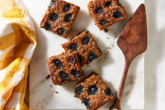 Butter Pecan Banana Bread With Blueberries From Malcolm Livingston II