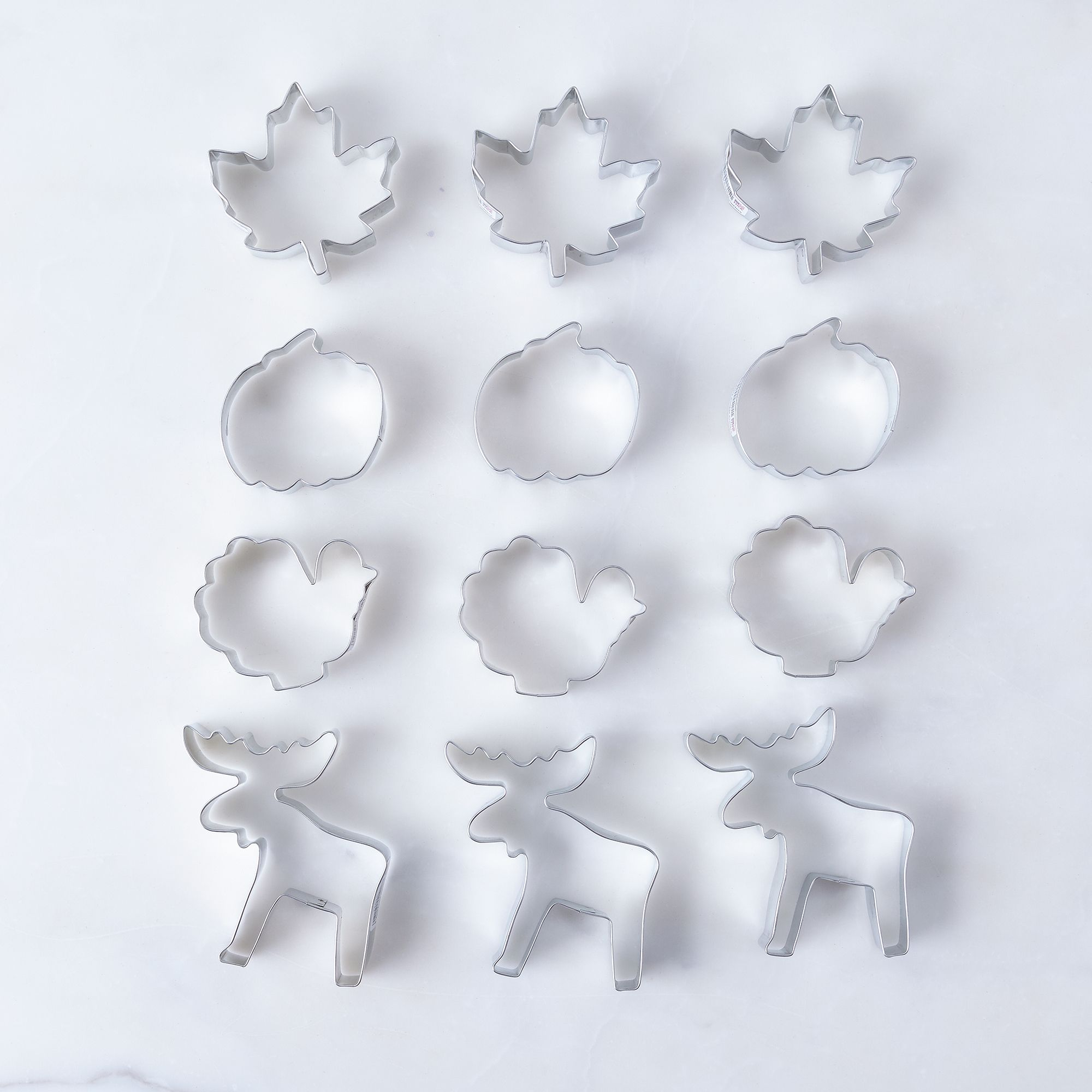 Autumn Cookie Cutter Set - Set of 12