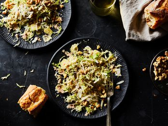 A Nutty, Cheesy, Buttery Salad (Yes, Salad!)