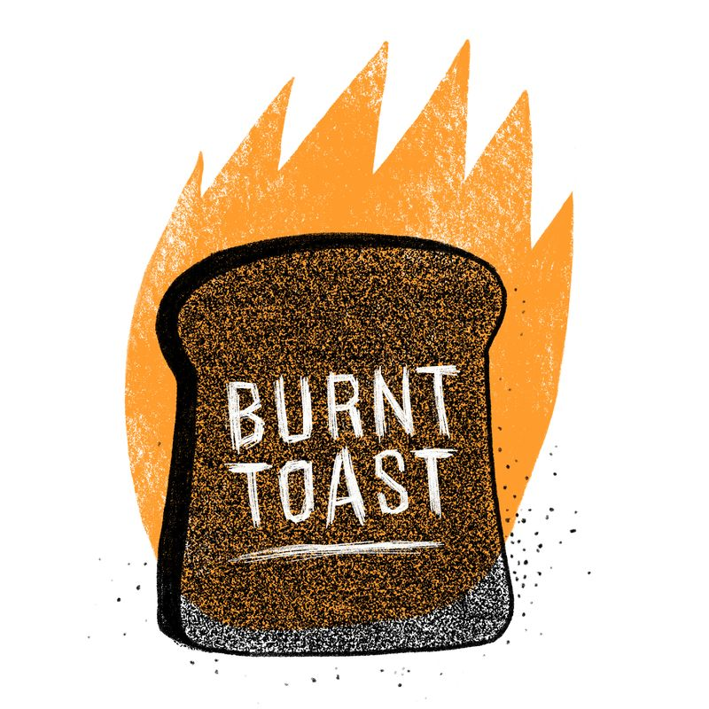 Toast can be metal—haven't you heard?