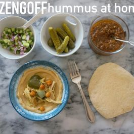 Hummus inspired by Dizengoff