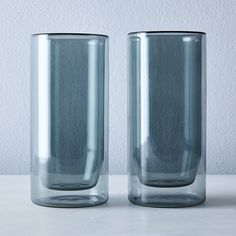 Double-Walled Glassware (Set of 2)