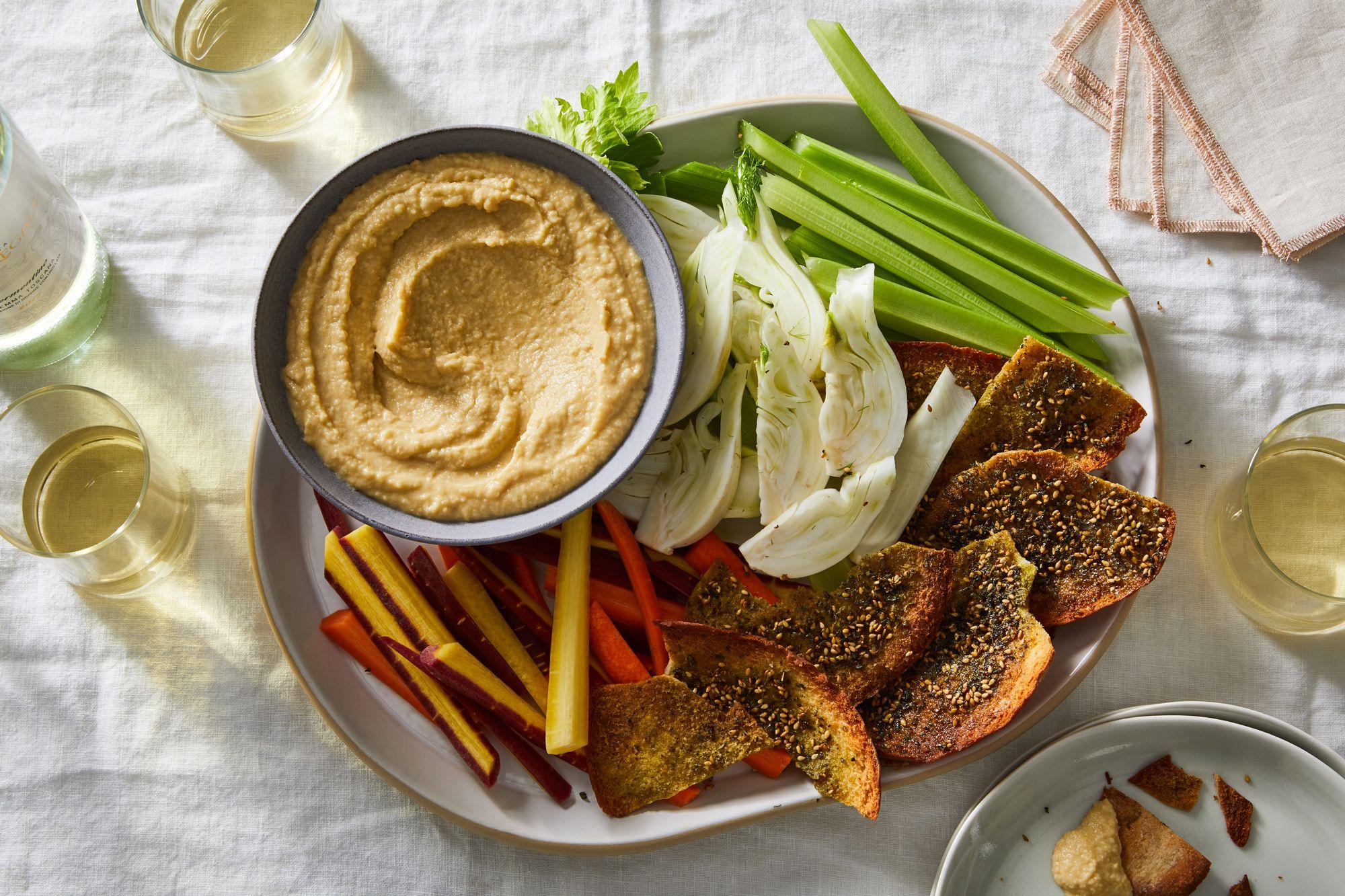 Garlic Butter Hummus
