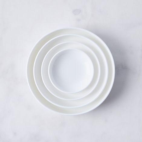 Purio White Nested Prep Bowls (Set of 4)