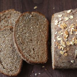 Honey Oat Whole Wheat Loaf