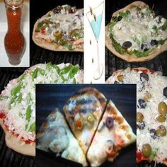 Grilled Martini Pizza and a Party