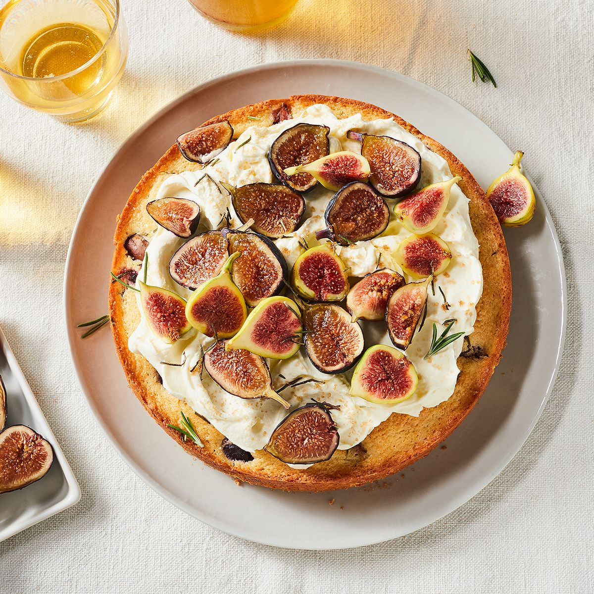 Ricotta Rosemary Cake With Fresh Figs Recipe On Food52
