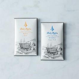 72% Belize and 76% Ecuador Single Origin Craft Chocolate Bars