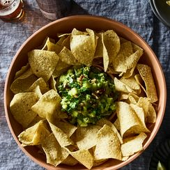 Roberto Santibañez' Guacamole with Tequila & Apples