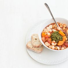 Rustic Chickpea soup