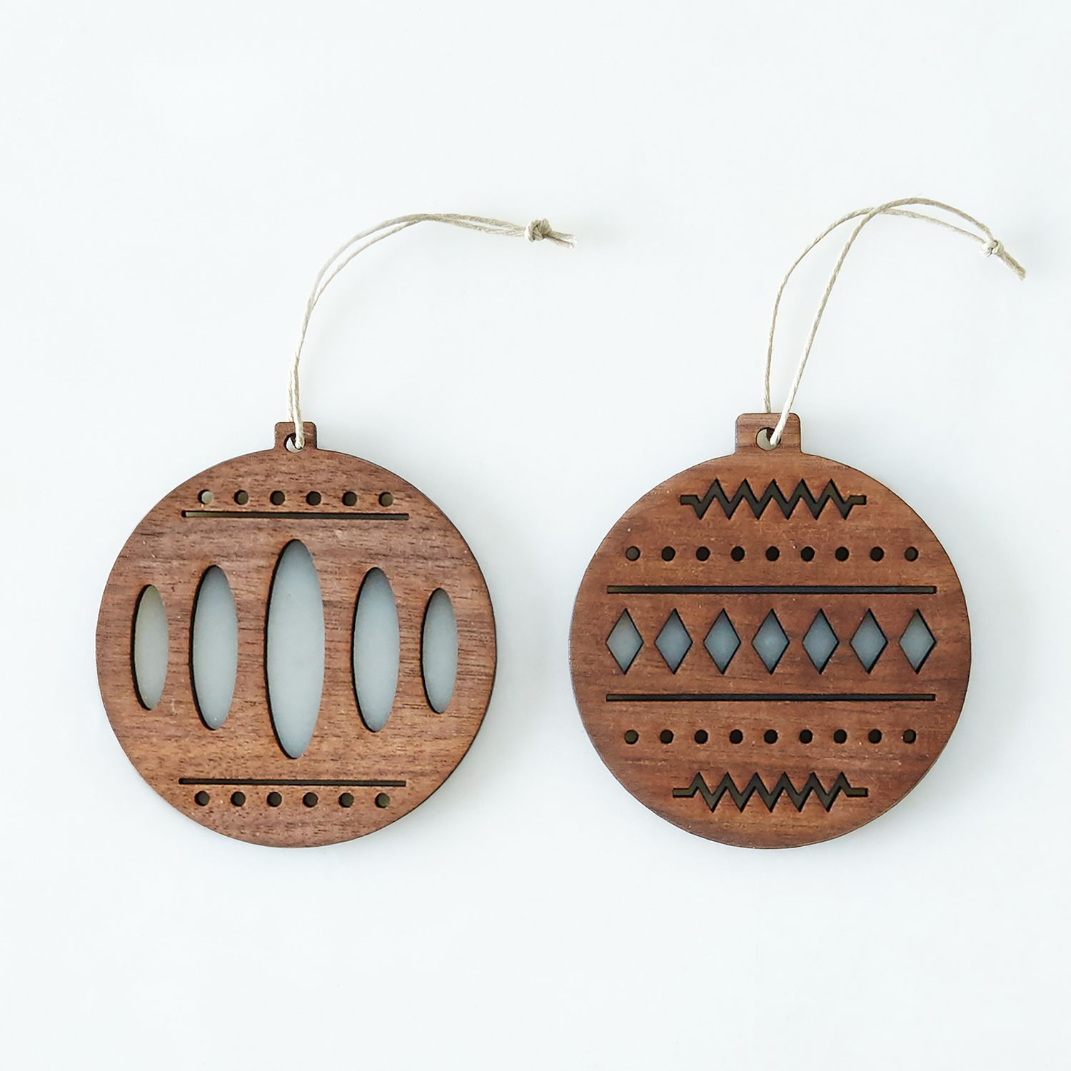 Laser Cut Walnut Ornaments On Food52