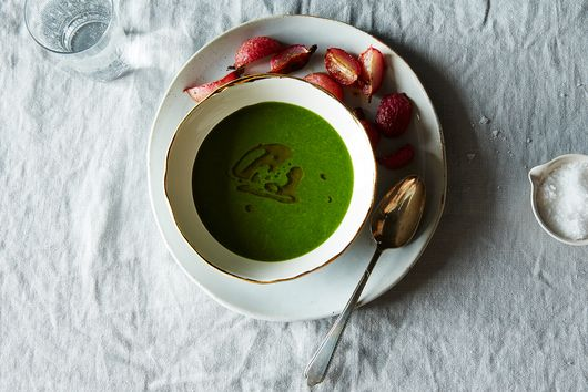 Radish Top Soup: A Reason to Keep the Greens