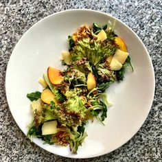 Summer Entree Peach Salad