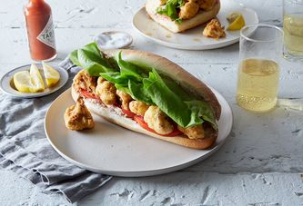 Celebrate Fat Tuesday With This Vegan Po'Boy