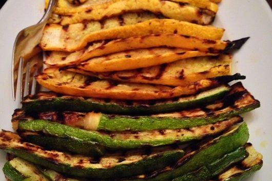 Daniel Mancini's of Mama Mancini's Grilled Zucchini
