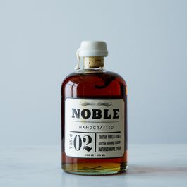 Noble Tonic 02: Tahitian Vanilla Bean & Egyptian Chamomile Blossom Maple Syrup