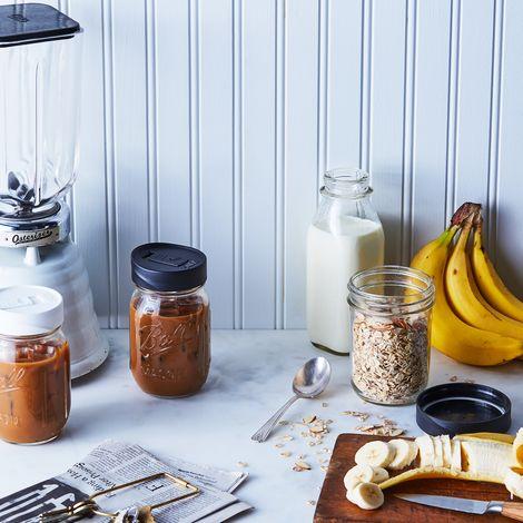 Mason Jar Storage & Drinking Lids (Set of 6)