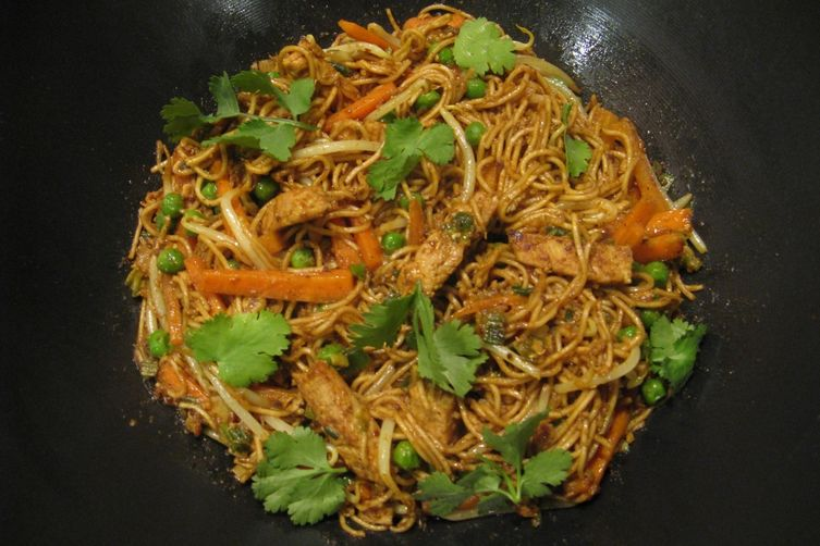 Hoisin Turkey Noodles